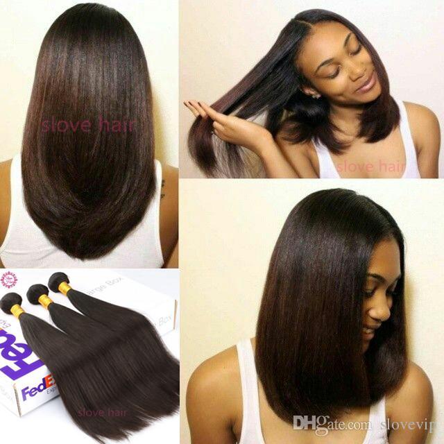 Peruvian Virgin Hair Straight 3 Bundle Deals 8A Unprocessed Virgin Peruvian  Straight Weave Bundles Cheap Human Hair Weave Online Hair Weaving Styles ... dec120df6