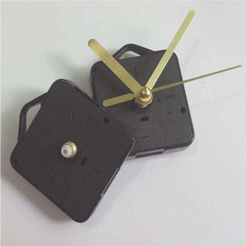 Relógio de Presente de Artesanato de ouro preto e Peças de Relógio Eixo Comprimento 13 cm Relógio Acessórios Melhor Movimento Mecanismo De Quartzo Movimento
