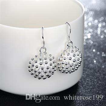 Wholesale - lowest price Christmas gift 925 Sterling Silver Fashion Earringsy E144