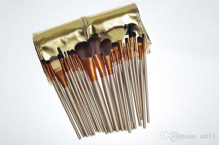 HOT Makeup Brushes Professional Brush sets gold package