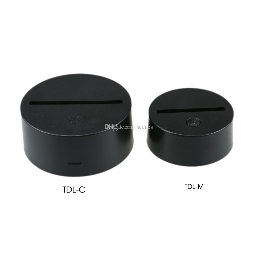 Mini RGB LED Base for 3D Illusion Acrylic Light Panel 7 RGB Lights DC 5V Factory Wholesale CE RoHS FCC