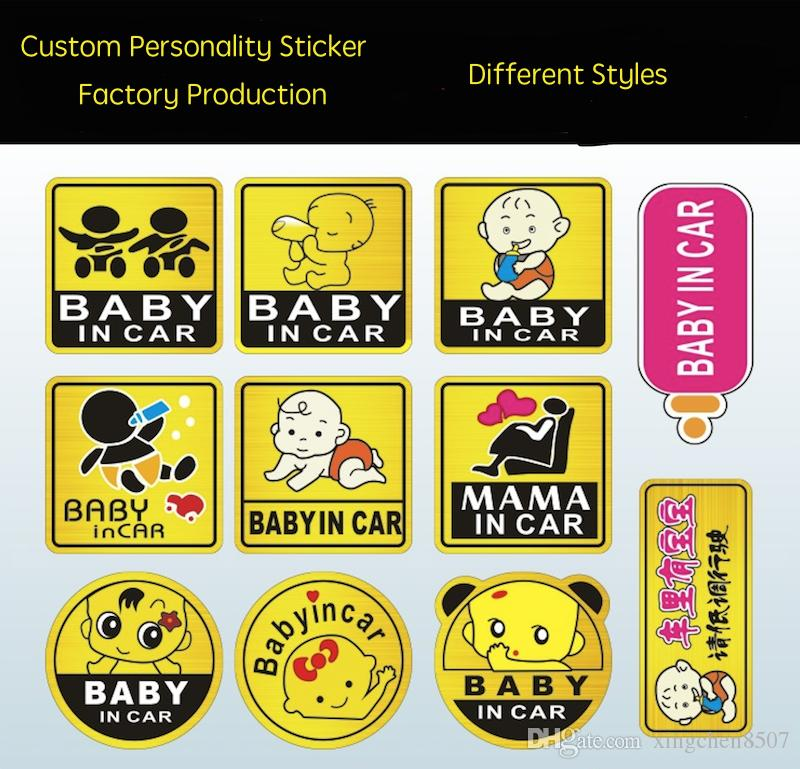 Custom Made Cartoon Cars Sticker Static Electricity Sticker - Custom made car stickers