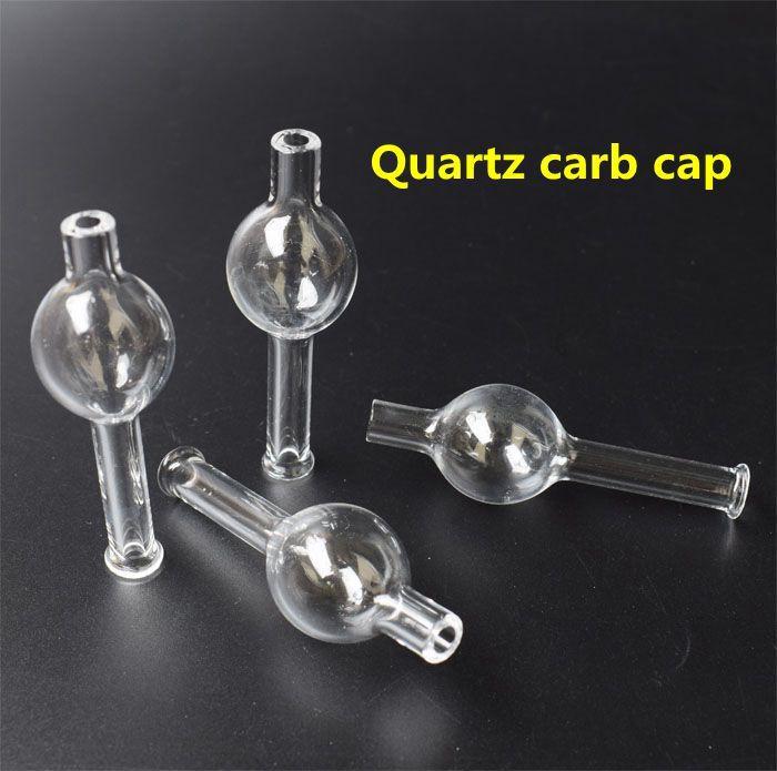 DHL Quartz Carb Cap XXL Quartz Thermal Banger Nail doppio tubo Quartz Nail tubi di acqua di vetro bong in vetro Tips