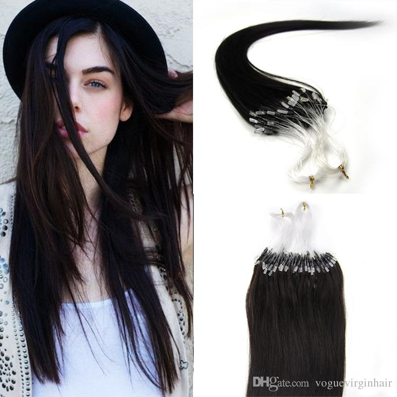 Micro Loops Ring Hair Extensions Wholesale 100 Unprocessed