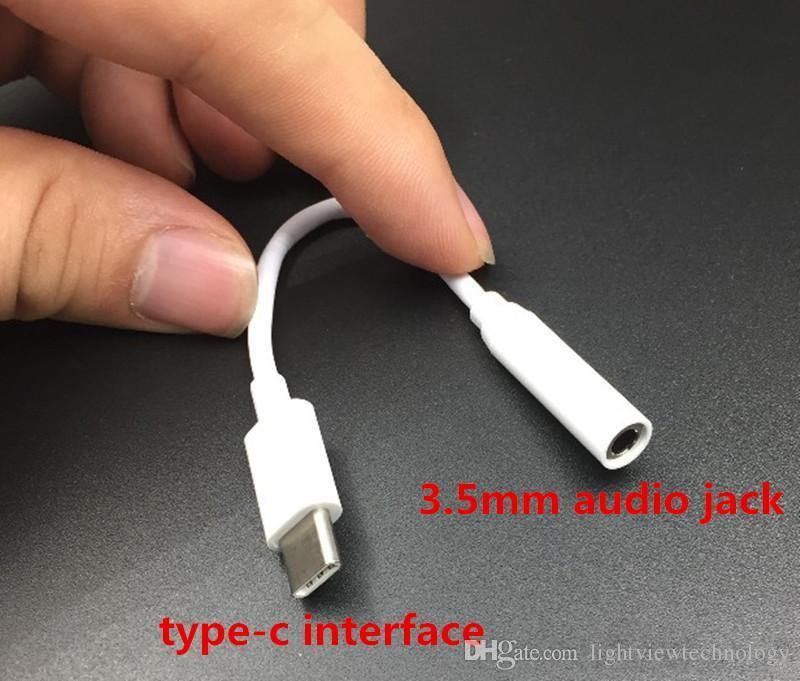 اكتب- c إلى 3.5 ملم aux audio جاك سماعة رأس كابل محول إلى محول سماعة 3.5 مم لملاحظة 8 S8 S7 الحافة