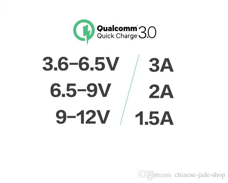 安全ハンマーアルミ合金シェルQC 3.0 + 2.4A最大30W 2ポートUSB車の充電器アダプタースマートフォンタブレットPC /ロット