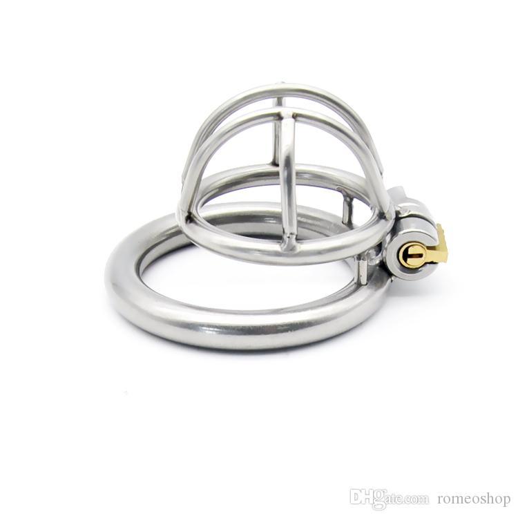 Заводская цена Последние дизайн нержавеющая сталь мужской 28мм пениса Кейдж целомудрия устройства петух кольцо БДСМ секс игрушки