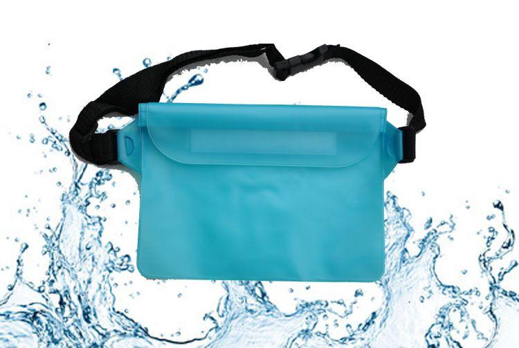 Multi-Purpose à prova d 'água Saco de Armazenamento À Prova D' Água bolsa de bolso À Prova D 'Água com alça de cintura, Saco de Praia de Natação b717