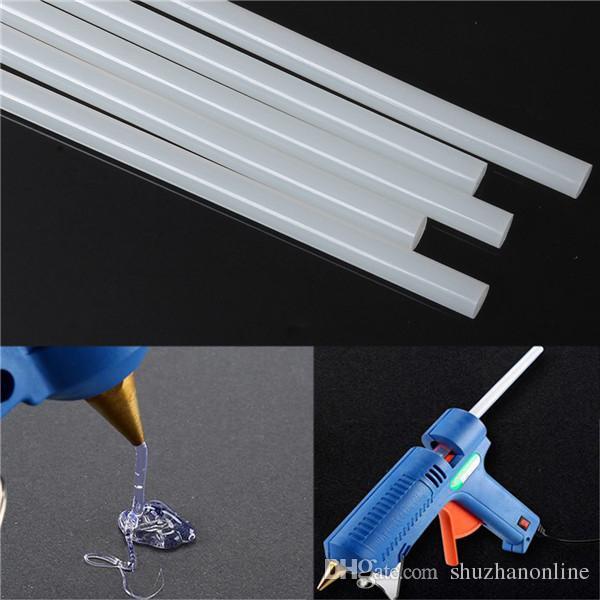 5 unids 11x270mm Hot Melt Glue Sticks EVA Clear Glue Adhesive Sticks Para pistola de pegamento