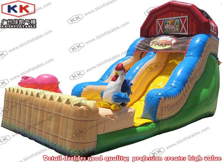 2018 Farm Theme Inflatable Pool Slide, Children Slide For Sale,Inflatable  Animal Slide From Lynnkk, $2301.51 | Dhgate.Com