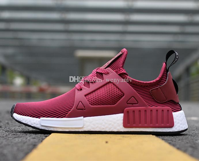 2018 New Originals Nmd Xr1 Primeknit Wine Red Mens Womens Nmd Sneakers  Running Shoes Boost Size 36 44 From Wenyanlv, $55.28 | Dhgate.Com