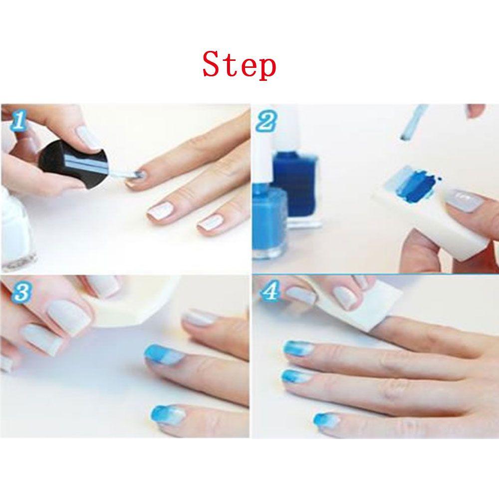 Wholesale Nail Art Tools Gradient Nails Soft Sponges For Color Fade ...