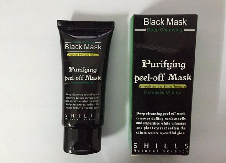 SHILLS Deep Cleansing Facial Masks Black Mask Purifying Peel off Face Nose Black Head Pore Peels DHL