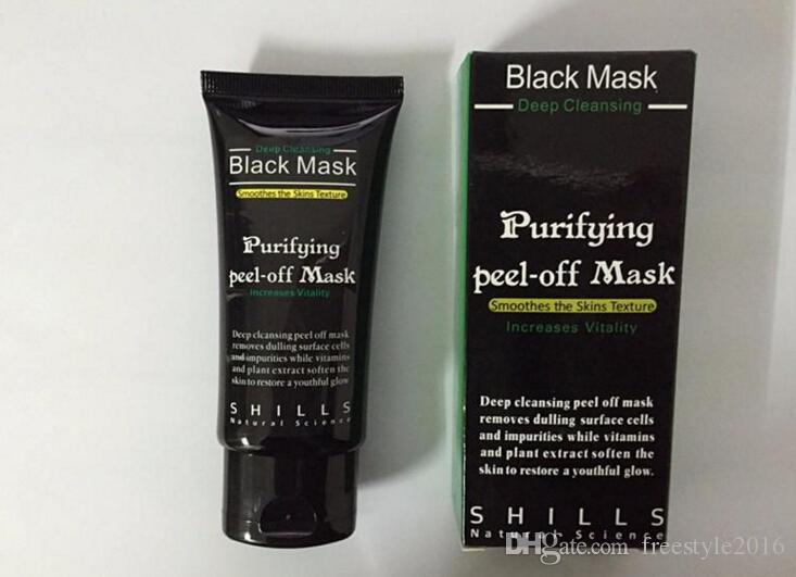SHILLS Deep Cleansing Facial Masks Black Mask Purifying Peel off Face Skin Care Nose Black Head Pore Peels