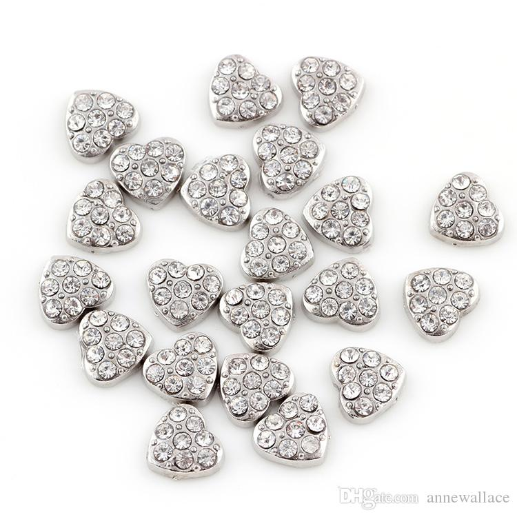 good quality new type heart floating charms for glass living memory lockets