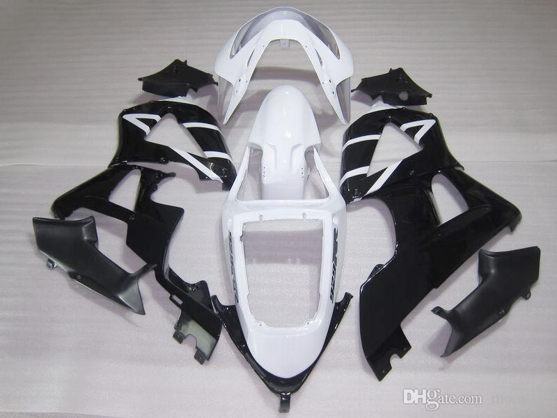 Road racing Injection molding fairing kit for Honda CBR900RR 00 01 white black fairings set CBR929RR 2000 2001 OT04
