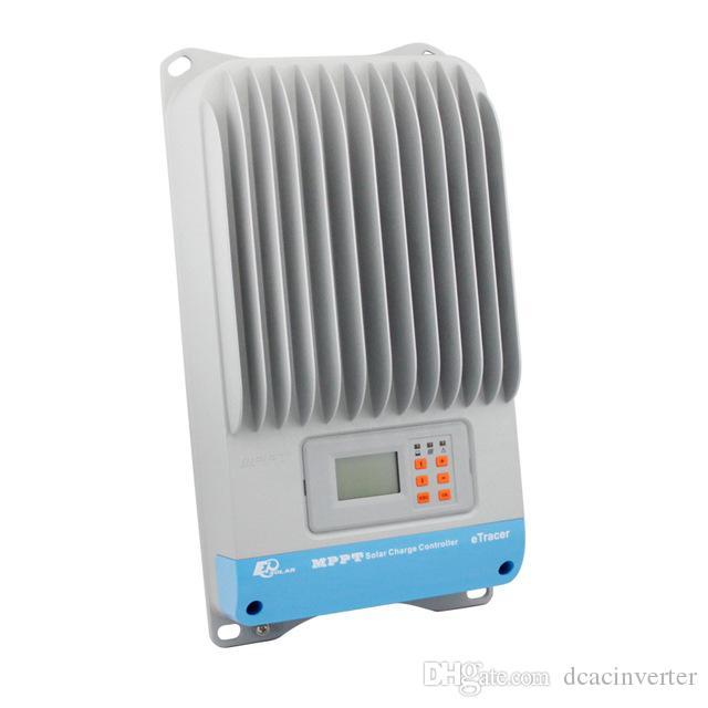 60A ET6415BND 12 В 24 В 36 В 48 В авто Работа eTracer MPPT Солнечная Панель Батареи Контроллер Заряда Регуляторы