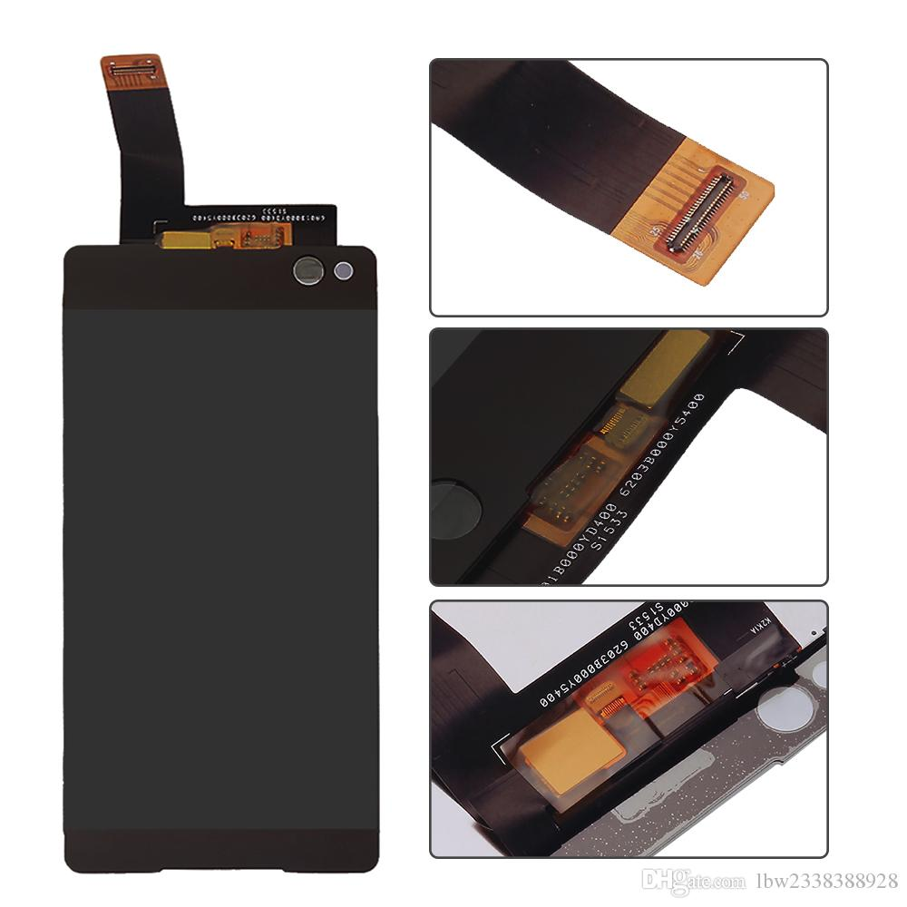 For Sony Xperia C4 E5343 E5353 E5363 C5 Ultra E5563 E5553 E3 D2203 C 4 D2206 Zr M36h C5502 C5503 Lcd Display Touch Screen Digitizer Assembly