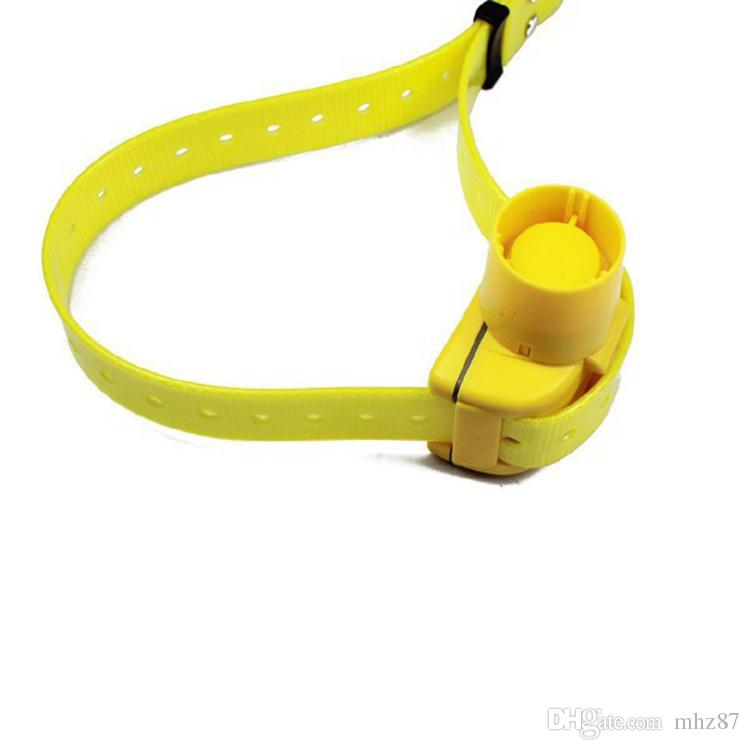 New Yellow Color Hunting Dog Collar Beeper Dog Training Collar Waterproof for Small Medium Large Dogs