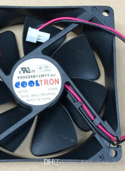 coolTRON FD9225B12W11-R21 12 v 9025 5.64 w 2 Tel sunucu fanı