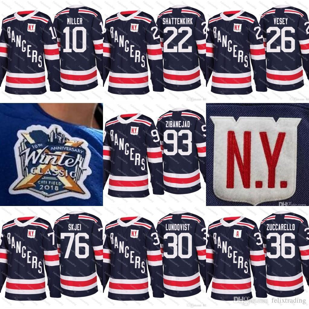 release date: 55103 5d431 93 Mika Zibanejad 2018 Winter Classic 76 Brady Skjei Rick Nash Lundqvist  Zuccarello 22 Kevin Shattenkirk Jimmy Vesey New York Rangers Jersey