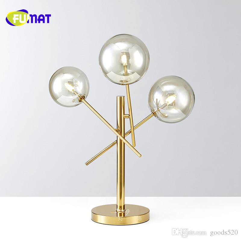 Best fumat new modern clear glass table lamps gold stainless steel best fumat new modern clear glass table lamps gold stainless steel table light for living room restaurant simple desk lamp bedroom under 37488 dhgate aloadofball Image collections