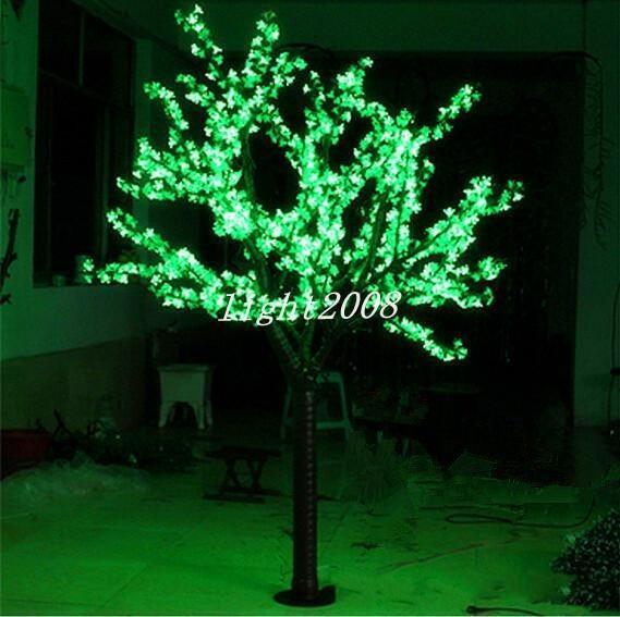 Led 인공적인 벚꽃 나무 빛 크리스마스 빛 LED 전구 2m/6.5ft 고도 110/220VAC 방수 옥외 사용 자유로운 선박