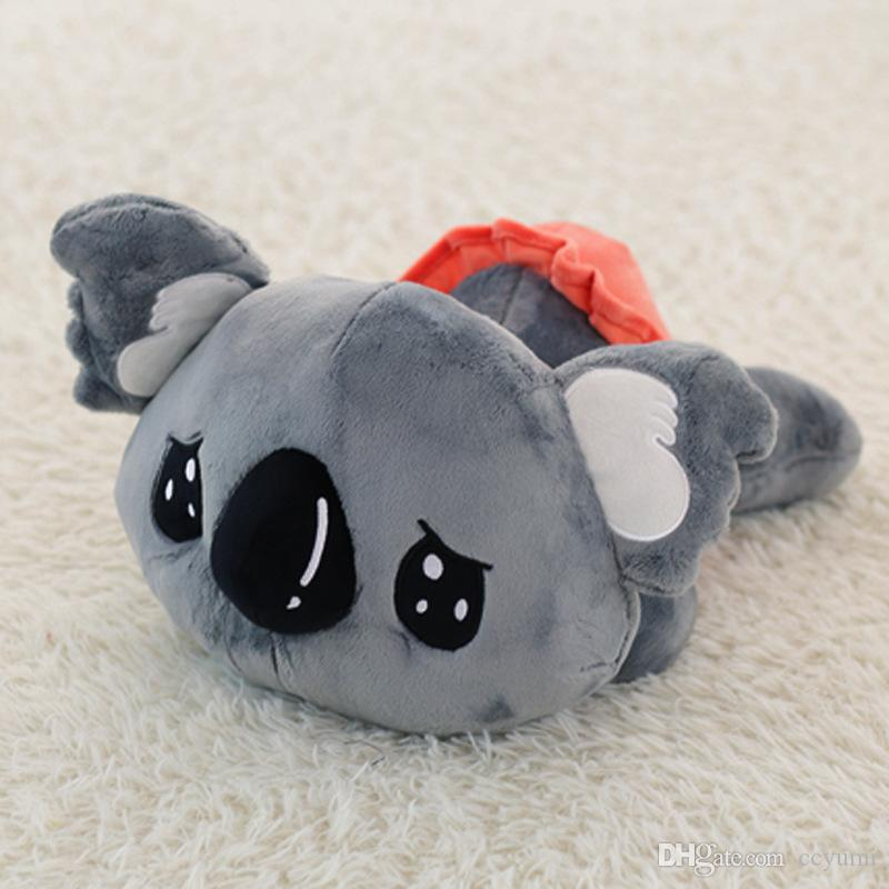 New 35cm Cartoon Koala Plush Toys Cute Stuffed Animals Koala Bear Doll for Kids Children Xmas Birthday Gift