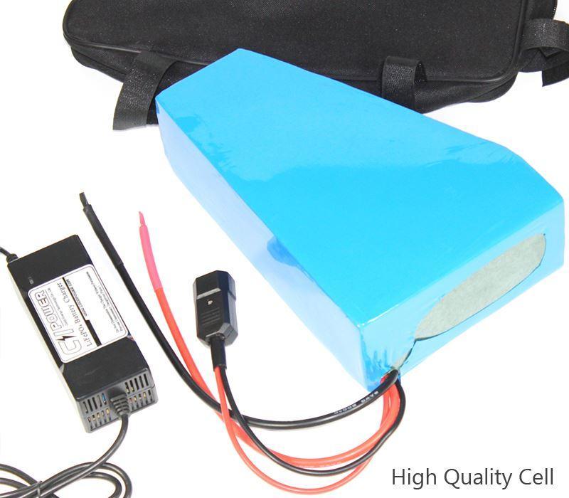 48v Triangle E Bike Lithium Battery Pack 48v 16ah Sanyo Electric