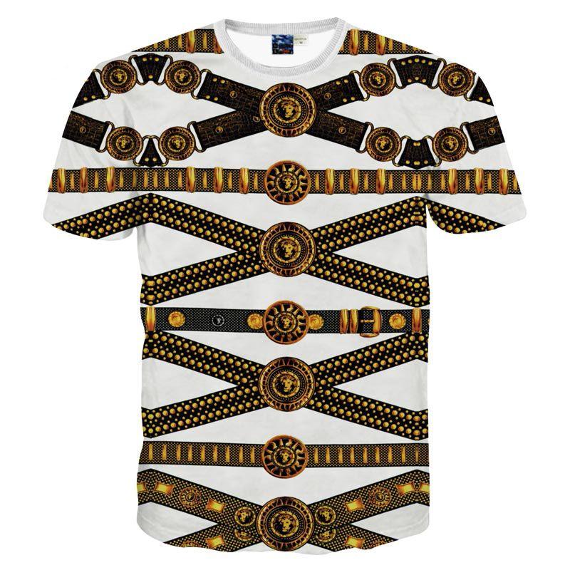 56216aa399d3 3D T Shirts Nice Style Men Women Short Sleeve T Shirt 3d Print Striped  Belts Fashion Digital Summer Tops Tees Tshirts Coolest Tee Shirts Cool T  Shirts ...