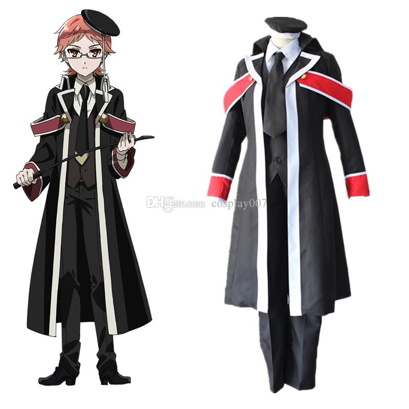 Heine Wittgenstein Cosplay Japanese Anime The Royal Tutor Clothing Masquerade Mardi Gras Carnival Costumes Gandalf Costume Top