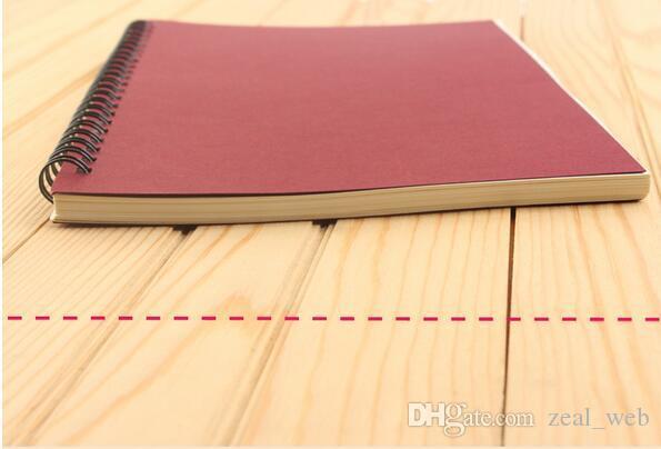 2020 جديد دوامة المدرسة دفتر قابل للمسح قابلة لإعادة الاستخدام Wirebound مفكرة يوميات كتاب A5 ورقة موضوع كلية شعار يحكم العرف 7