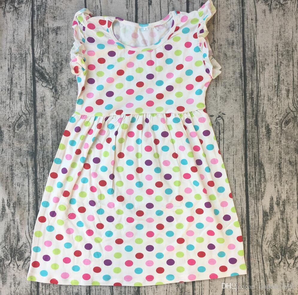 Großhandel Heißer Verkauf Sommer Kinder Baumwolle Kleid Baby ...