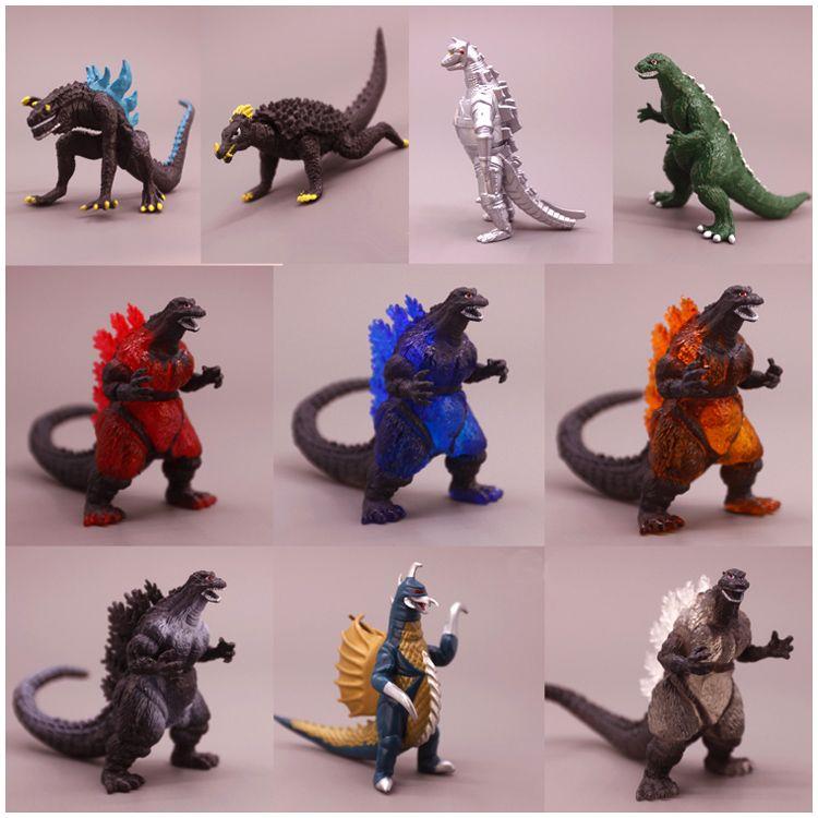 Figura De Acción De Juguete de dragones Dinosaurios Animales De Godzilla Conjunto de regalo de cumpleaños
