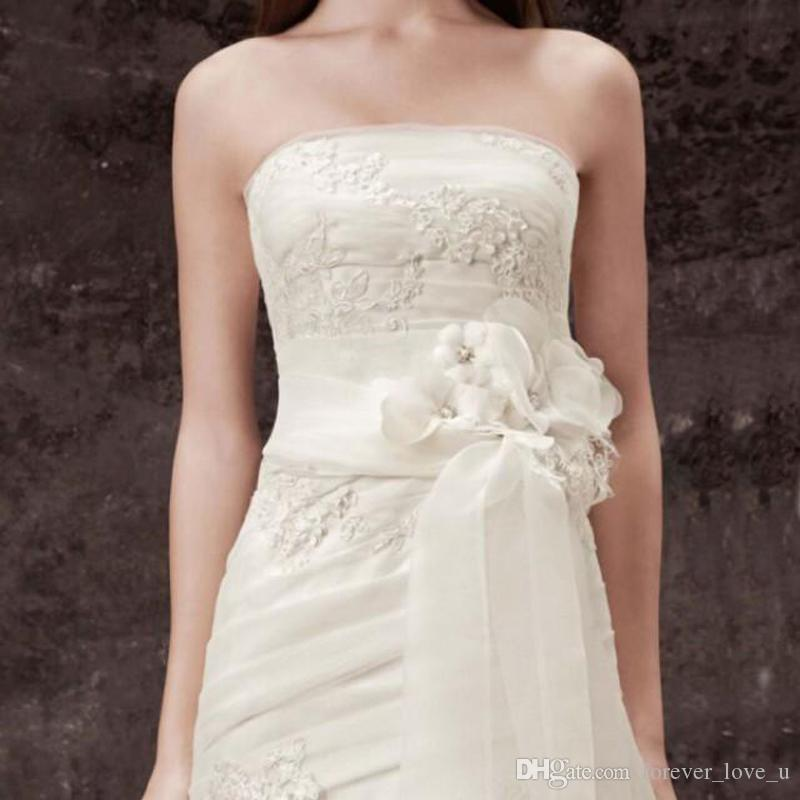 2018 Bridal Sash Wedding Sash Belt Handmade 2016 New Charming Flower ...