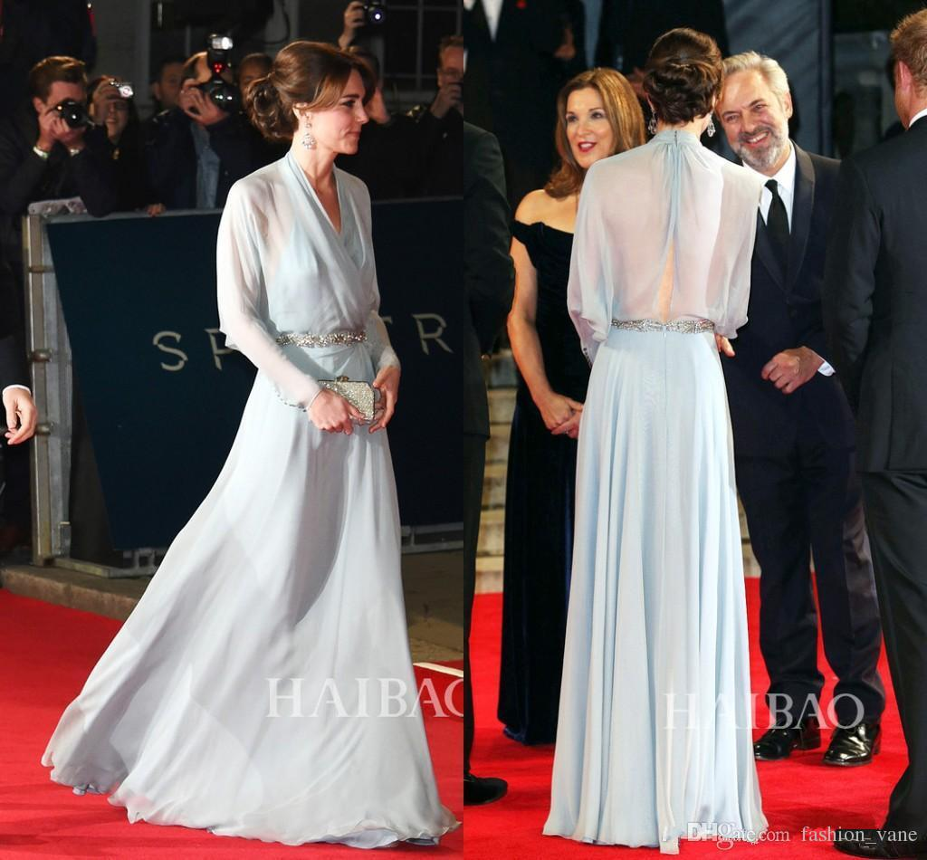 Kate Middleton Celebrity Red Carpet Dresses Evening Wear