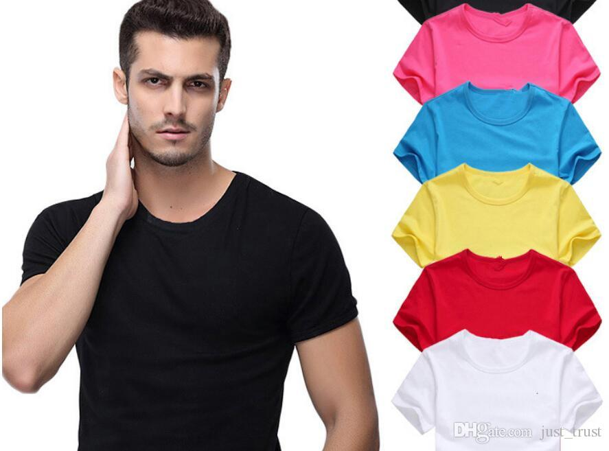 DHl free S ~6XL Custom made Golf solid color Classic cotton Blent men polo shirts Famous Men's round neck t shirts