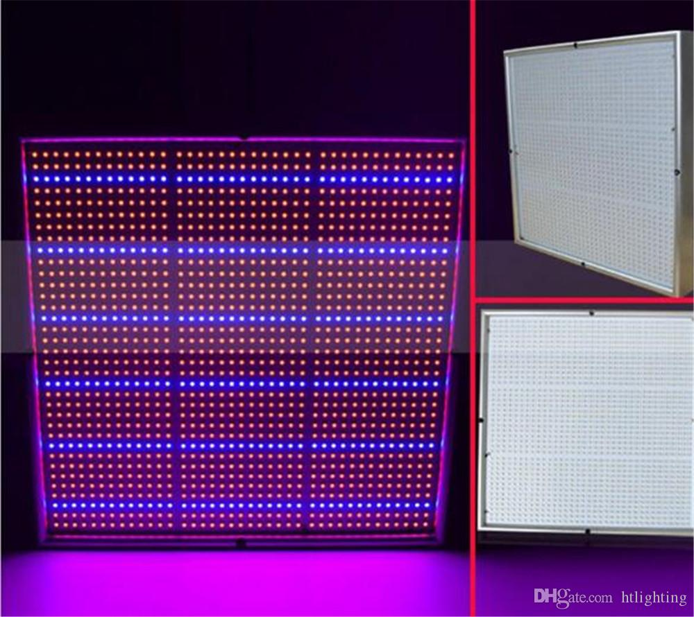 Full Spectrum Square 120W LED Grow Light Panel Idroponica Pianta vegetale Fiore pianta Grow Lighting Lamp