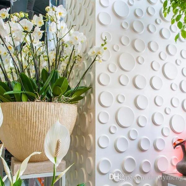 New Pe Foam 3 D Diy Wall Stickers Wall Decor Embossed Brick Stone ...