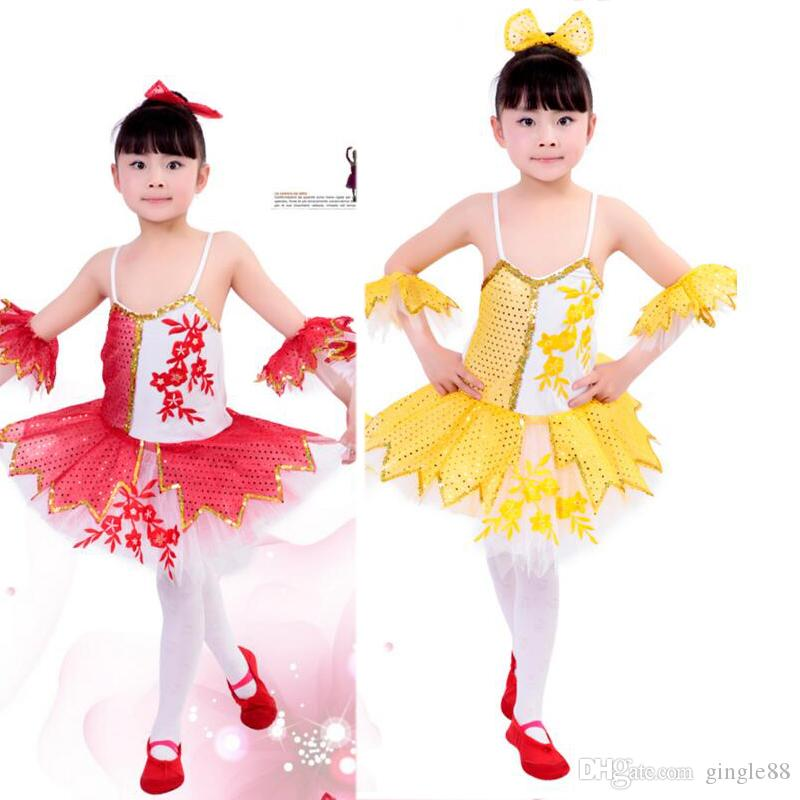 b5b807cdb Newly Girls Sequined Leotard Dancewear Ballet Tutu Gymnastics Dance ...