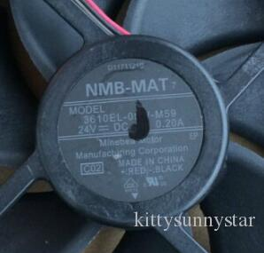 NMB 9025 24V 0.20A 9CM 3 선식 3610EL-05W-M59 인버터 팬