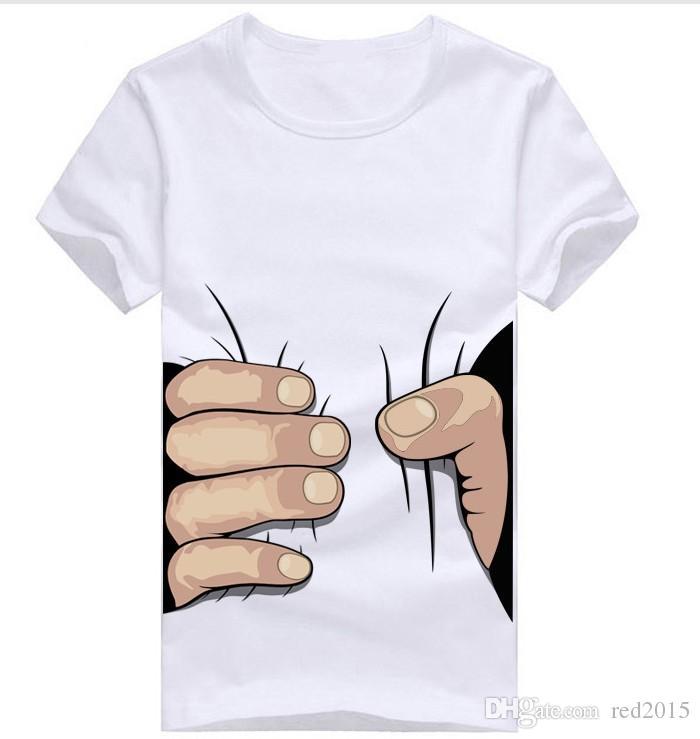 الجملة-- العلامة التجارية الصبي camisetas masculinas 3d تي-- شيرت أزياء الرجال ملابس الرجال قصيرة الأكمام 3d تي شيرت بلايز بلايز للرجال