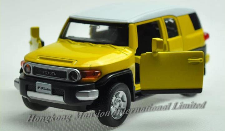 Scale Alloy Diecast Car Model For The Toyota Fj Cruiser