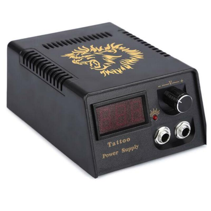 Lion Head Professional Tattoo Power Supply Digital Lcd Power Supply