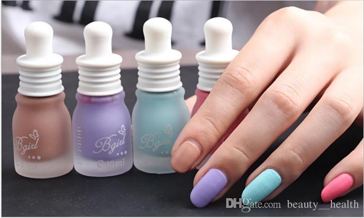 New Nail Polish Luminous Bgirl Brand Candy Color Nail Art Polishes