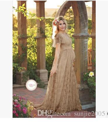 New Hot Sale Maternity Photography Props Pregnancy Clothes Maxi Maternity Photo Shoot Dress Long Chiffon Dresses For Pregnant Woman