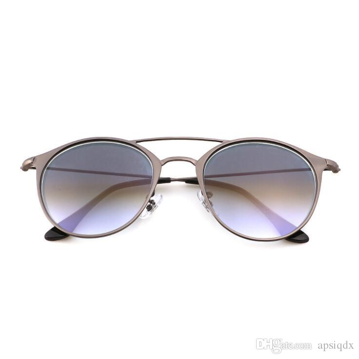 1de7cca76e9 Top Quality Women Oval Sunglasses Fashion Female Retro Reflective ...