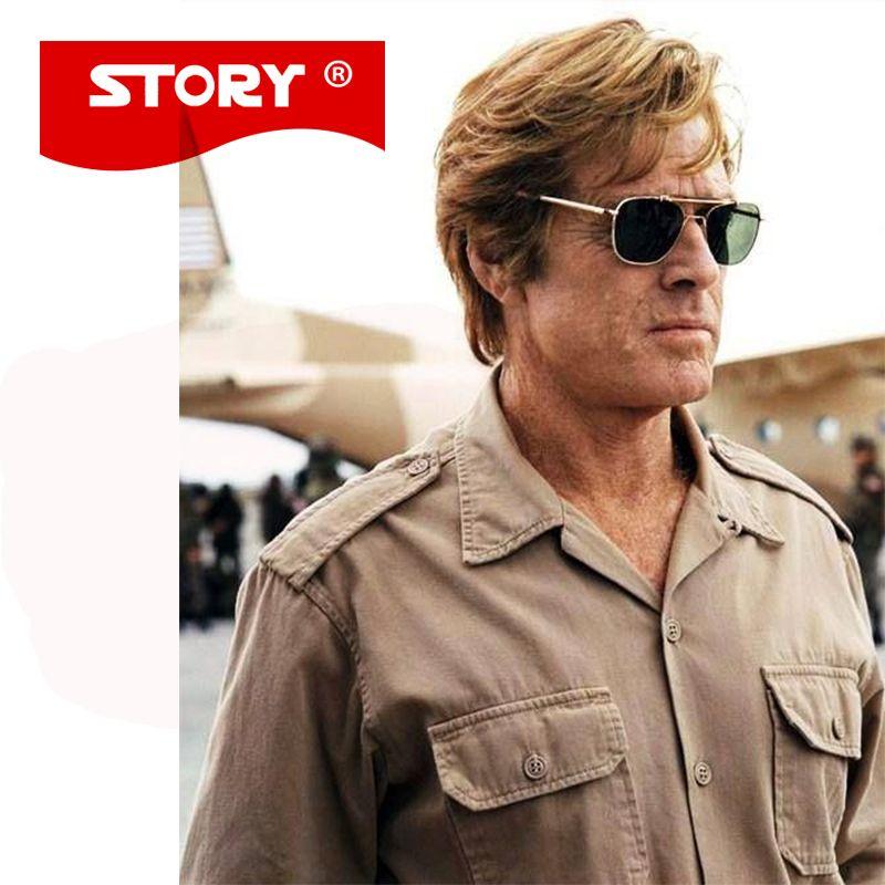dd4b6abe05 Brand New Army MILITARY AO Sunglasses Men American Optical Aviator Lens 12K  Gold James Bond Pilot Caravan Sun Glasses Wholesale Sunglasses Cool  Sunglasses ...