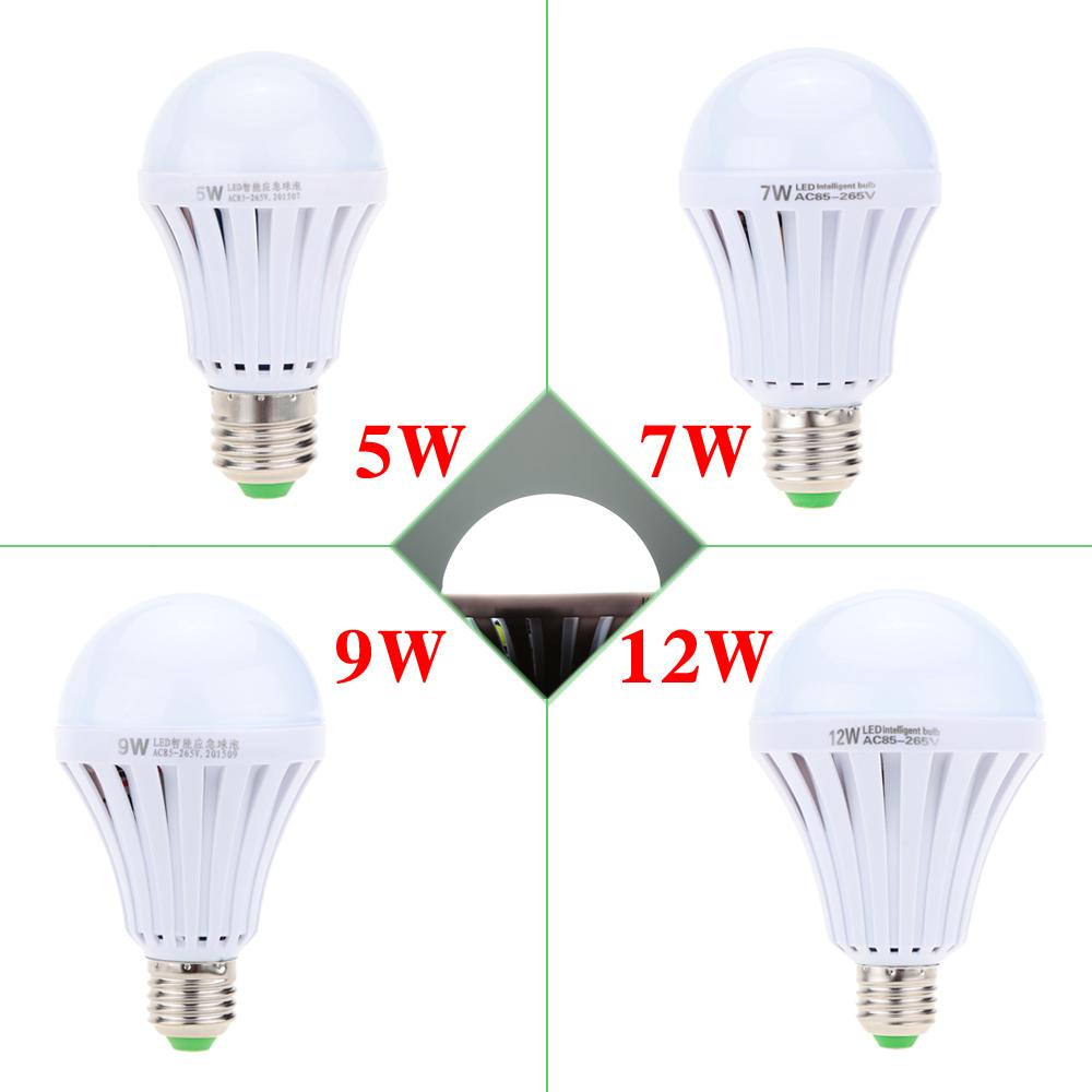 2018 Wholesale Intelligent Led Bulb 5w 7w 9w 12w Led Emergency Light ...