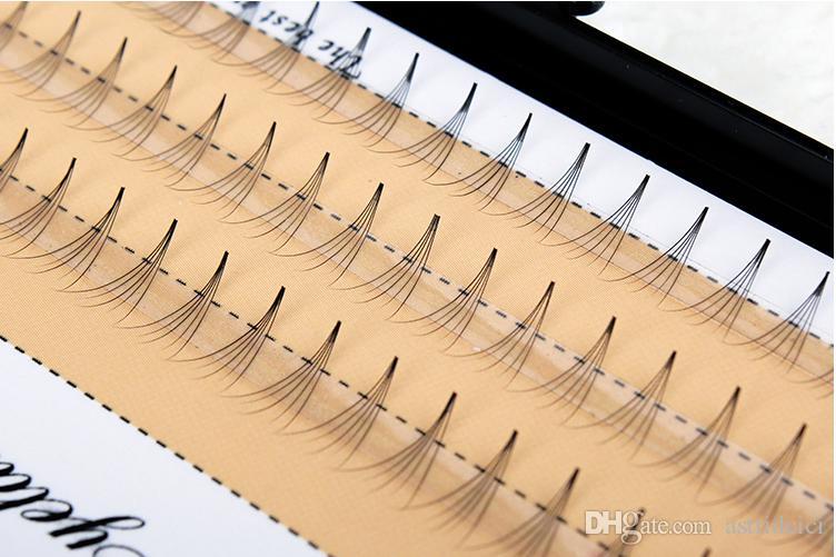 Professional Individual Eyelash For Salon Plant Lash Mink Hair DIY own eyelashes grafted plant single cluster planting false eyelashes 0.07